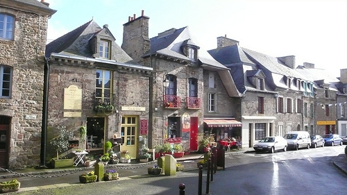 Bécherel in France, book capital of the world