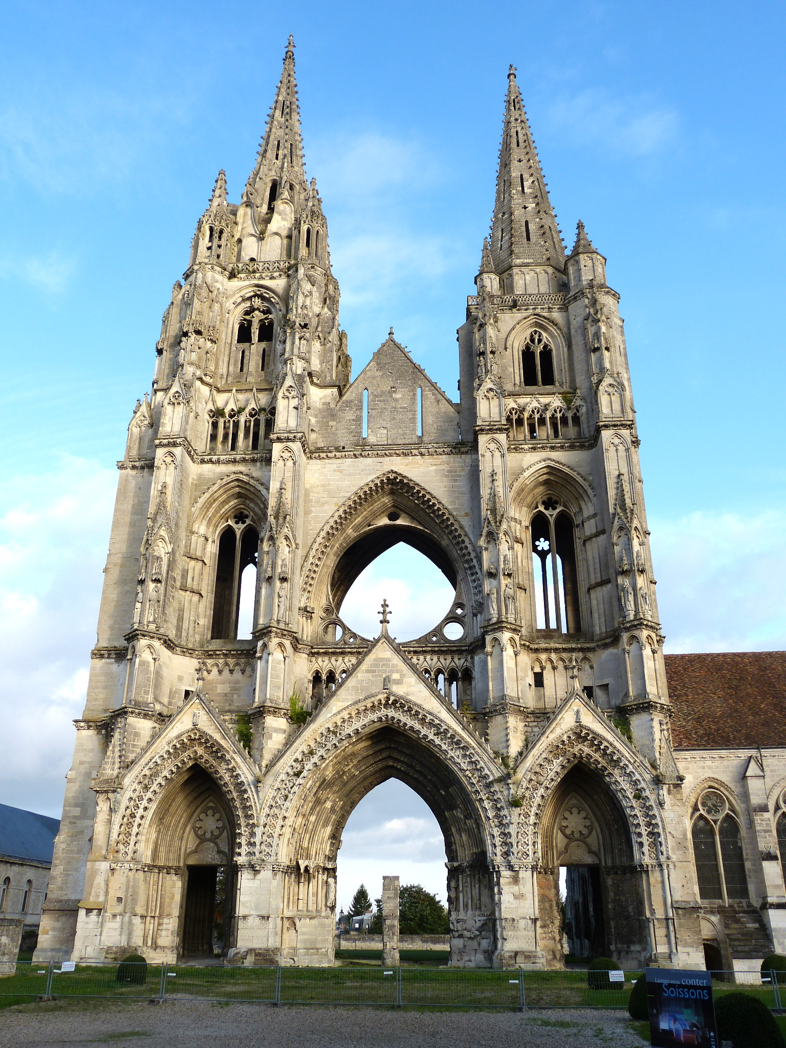 Abbey in Soissons