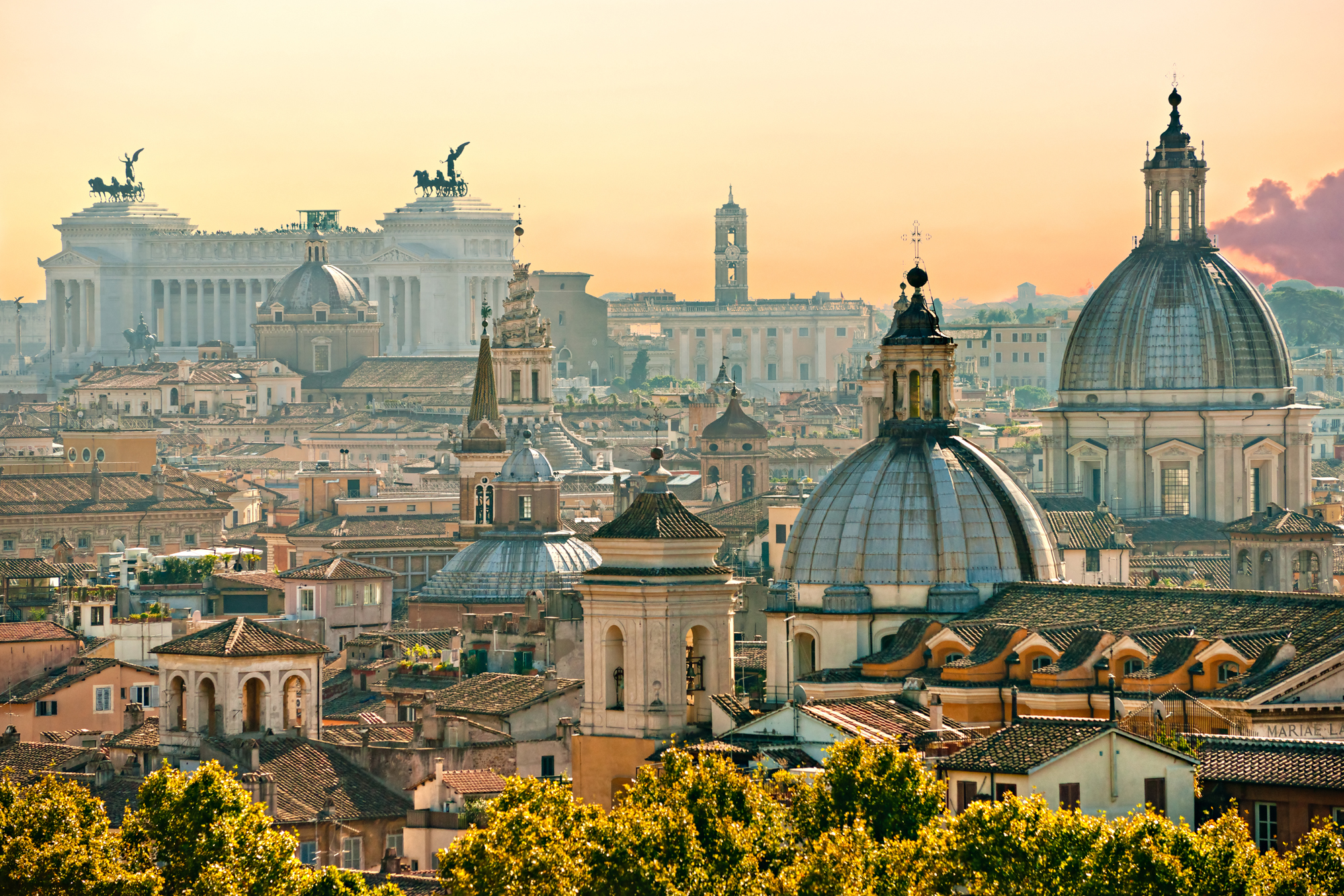 Rome from the rooftops - smaller size
