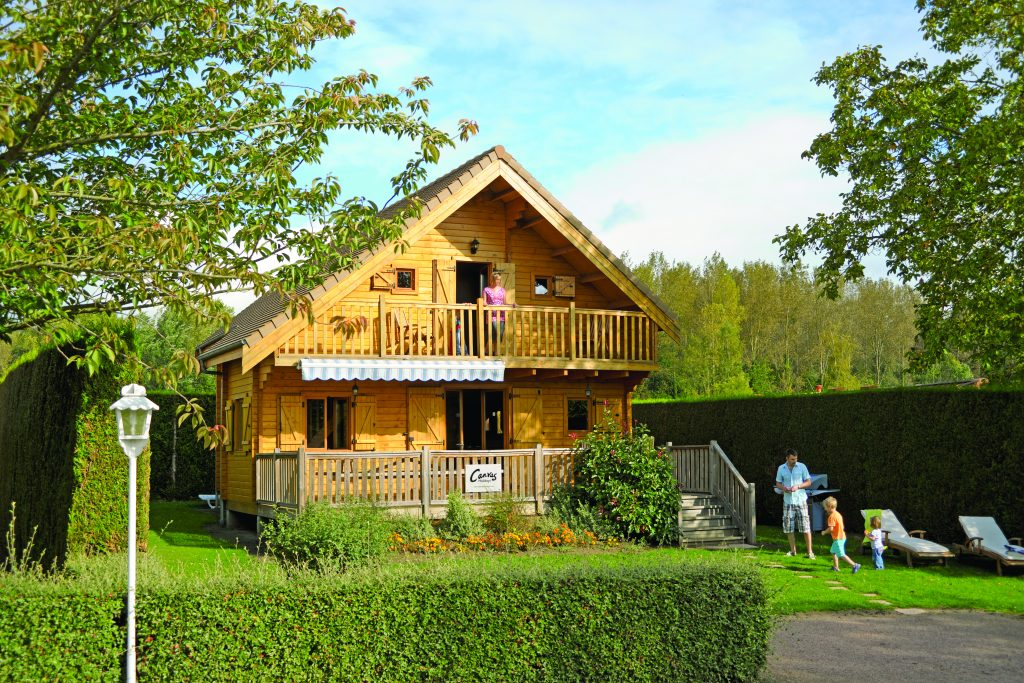 Canvas Holidays lodges at Berny Riviere