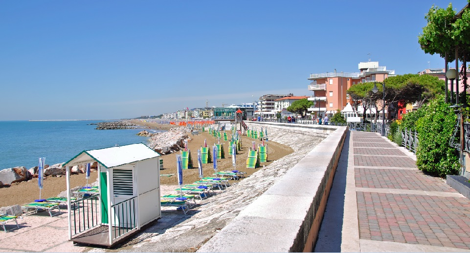 Caorle waterfront