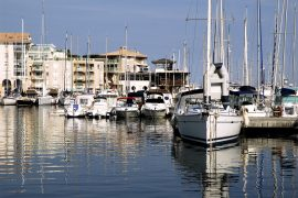 Frejus harbour