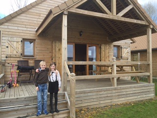Outside our lodge