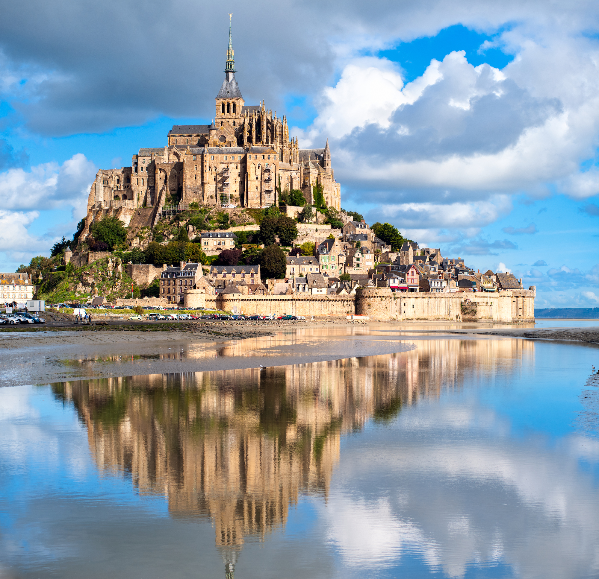 Mont St Michel by day