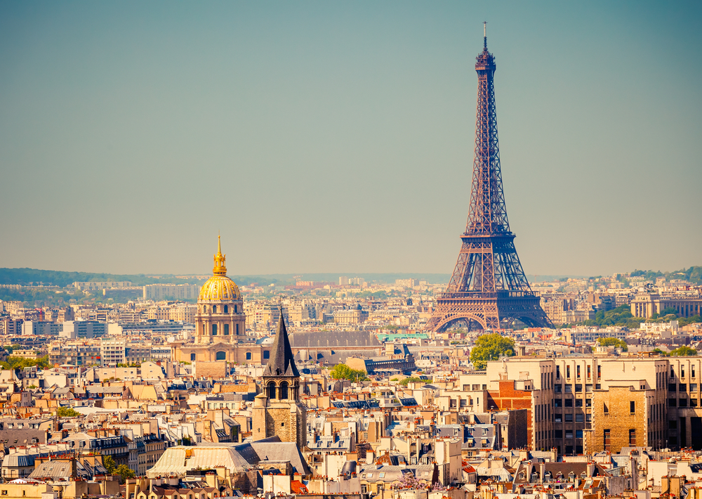 The magical city of Paris