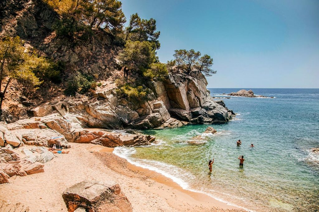Cala Llevado, one of our Selection campsites