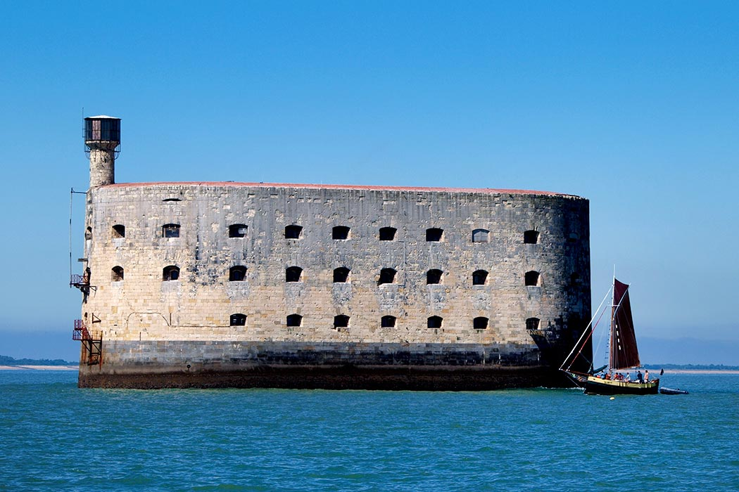 Fort Boyard near Domaine des Charmilles one of our Life campsites