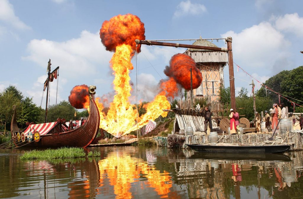 The Viking Show at Puy du Fou in the Vendée