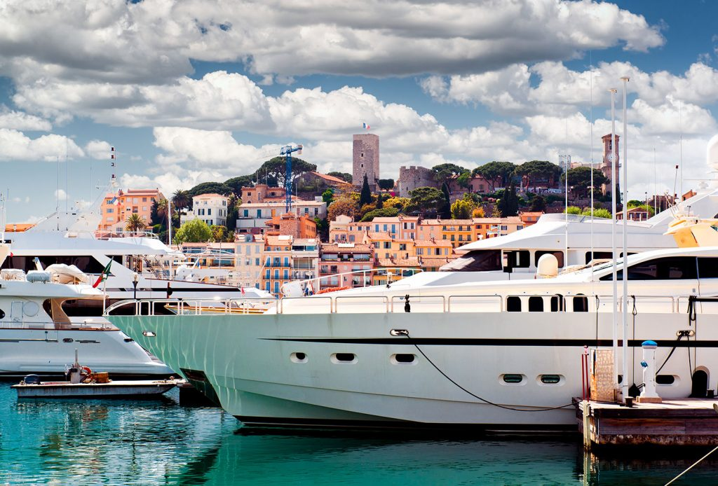 Cannes port