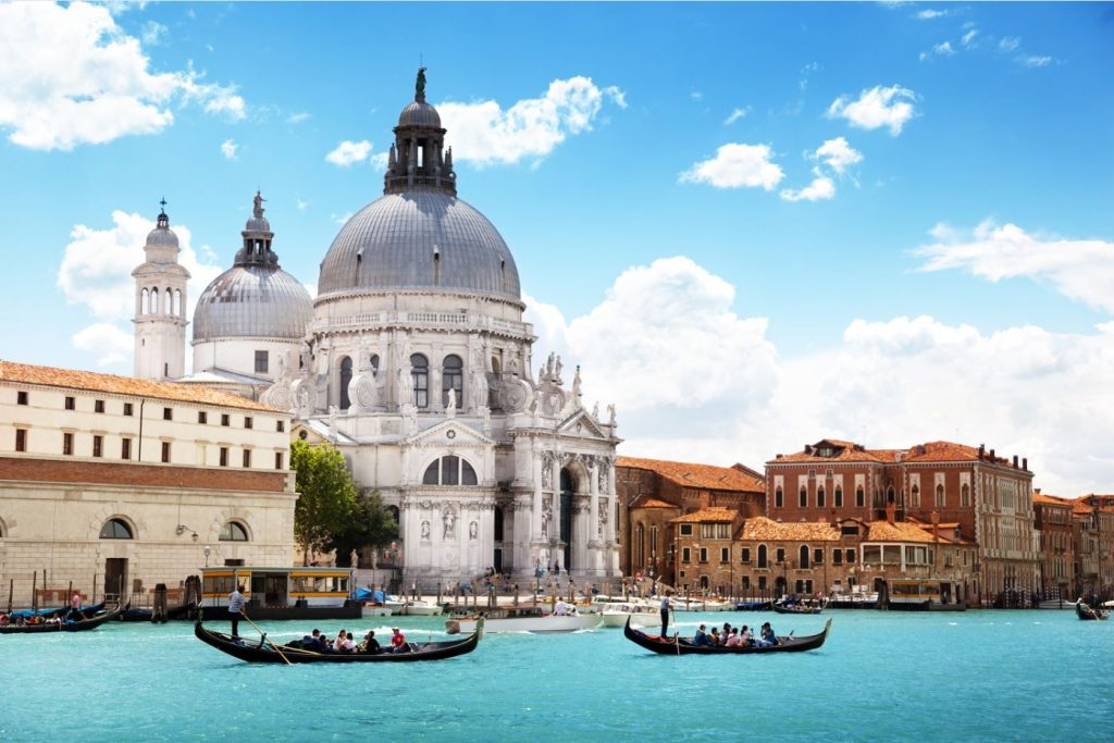 Venice near Camping Pra'Delle Torri an ideal Canvas Holidays campsite for couples