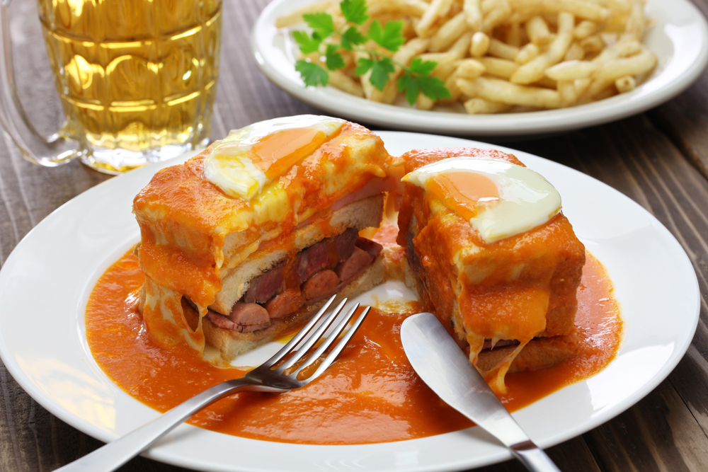 Francesinha a local Porto sandwich - Credit: Shutterstock