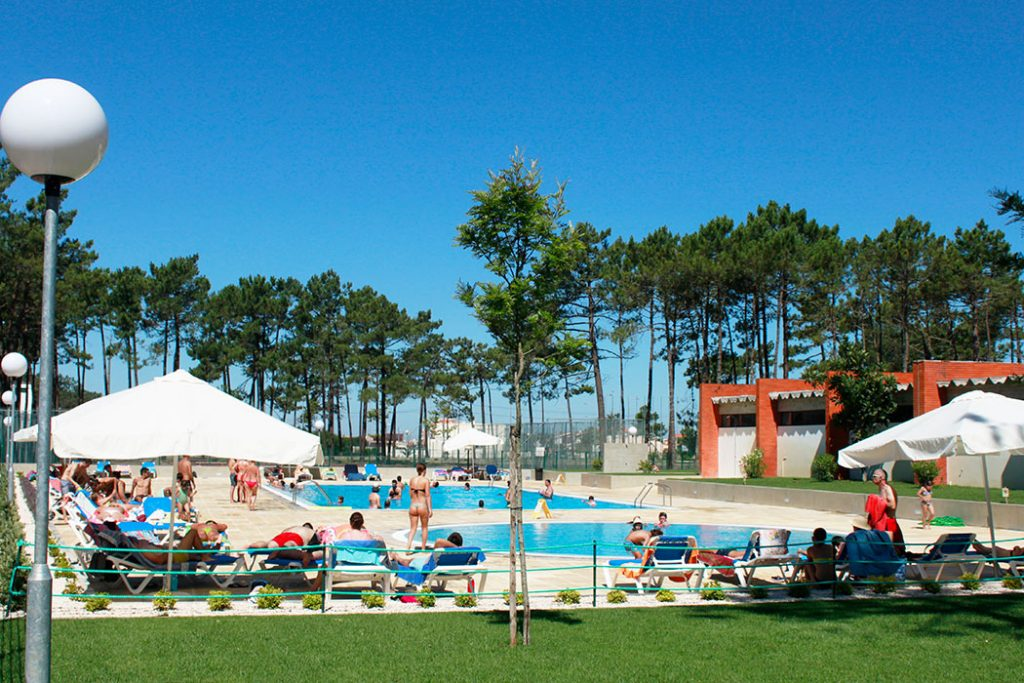 Camping Orbitur Vagueira near Porto in Portugal