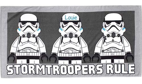 Stormtroopers beach towel