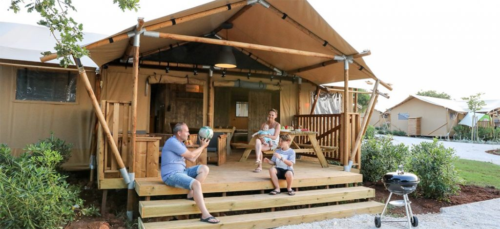 Glamping in South France
