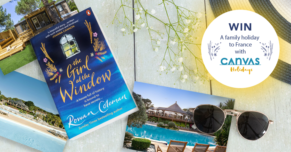 Win A Family Holiday To France With Canvas Holidays & Rowan Coleman