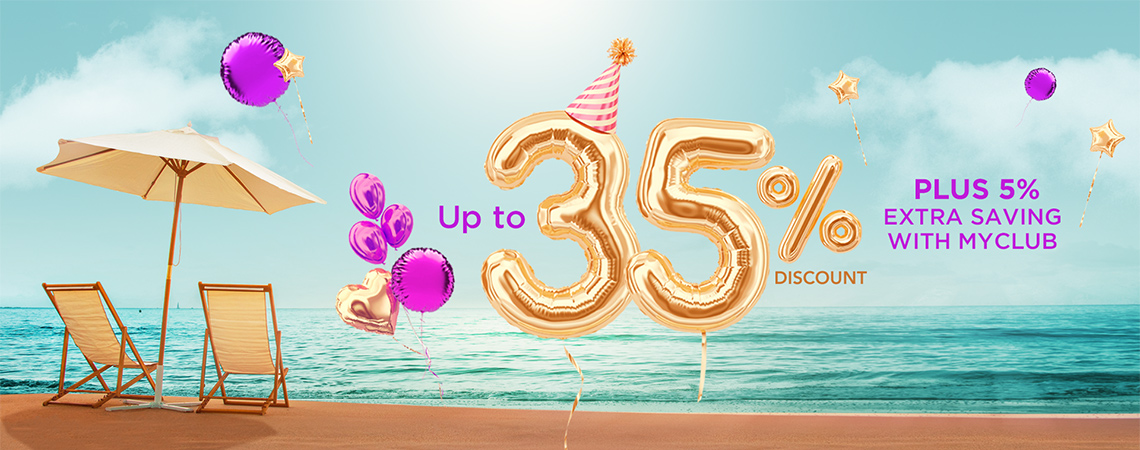 Vacanceselect 35th Birthday
