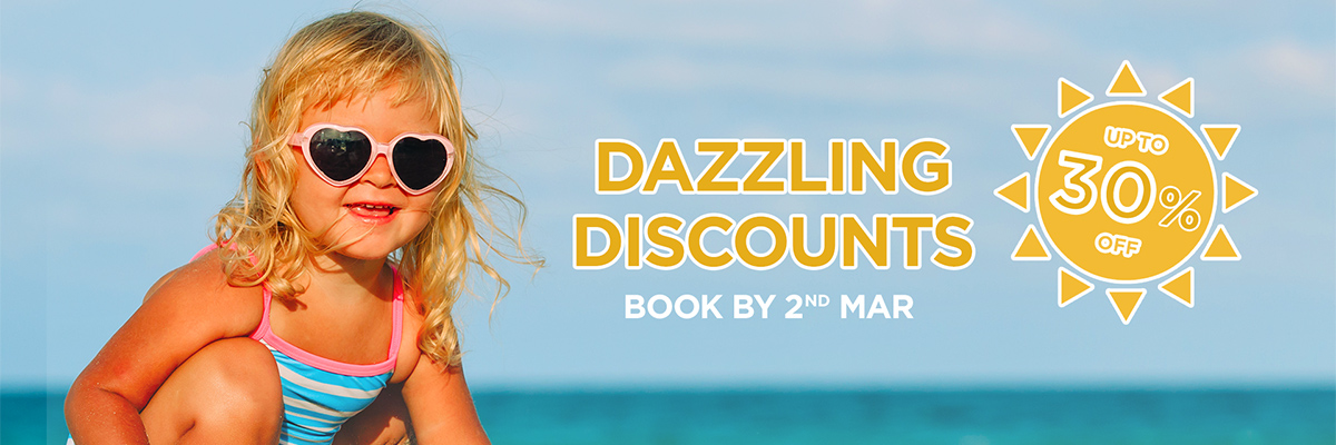 Dazzling Discounts September