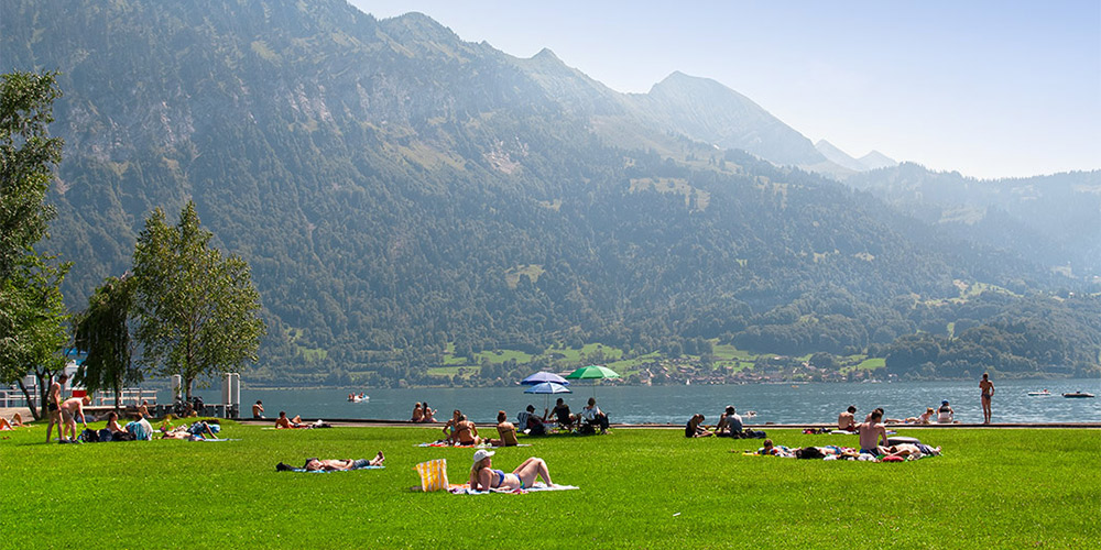 Campsites in Switzerland