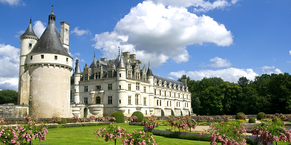 Popular regions in the Loire Valley