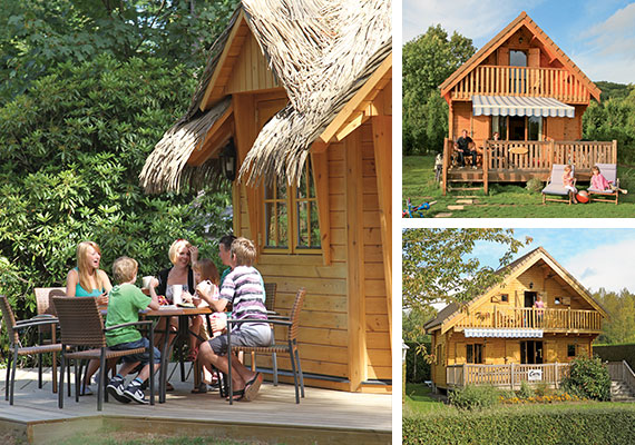Lodge mieten bei Canvas Holidays