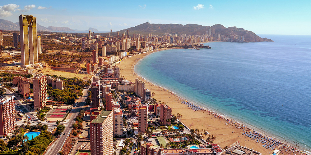 Things to do when camping in Benidorm