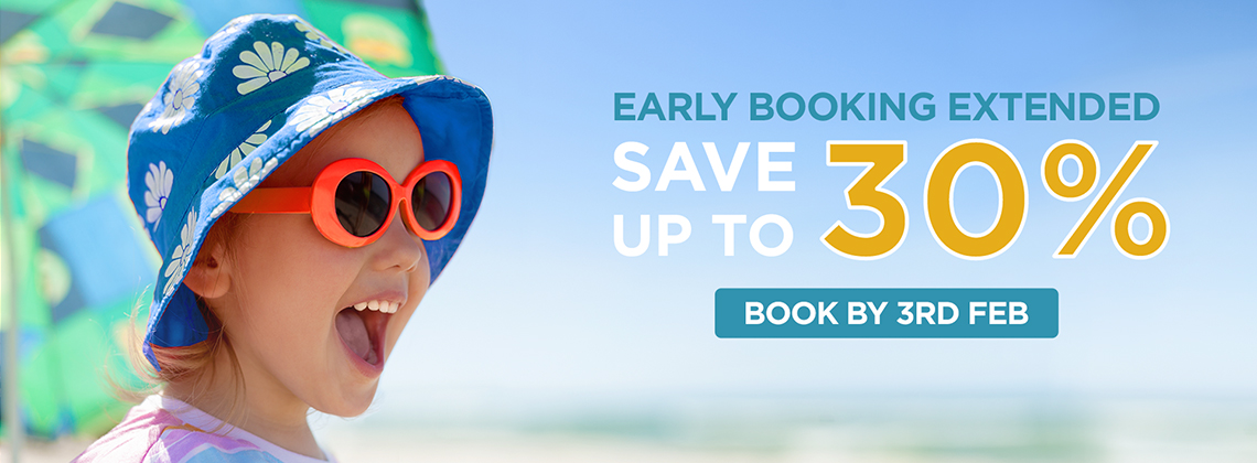 Summer Holiday 2020 - Early Booking Deal